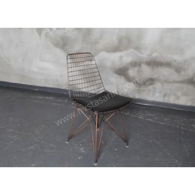 SAN10 Tel Sandalye