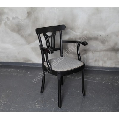 SAN1 Kolçaklı Ahşap Sandalye
