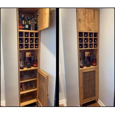 MK 051 Ahşap Şaraplık