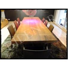 Eski Kalaslardan Ahşap Yemek Masası