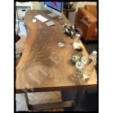 Ağaç Masa 0026 Ceviz Ahşap Makam Masası