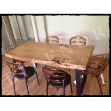 MA0038 Ladin ağaç yemek masası