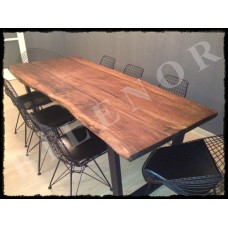 Ağaç Masa 0045 Ceviz Yemek Masası