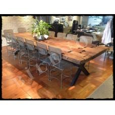 MA0046 Eski Kalaslardan Ahşap Yemek Masası