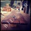 Ağaç Masa 0066 Kütük Masa