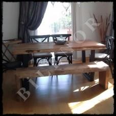 Ağaç Masa 0073 Ağaç Yemek Masası
