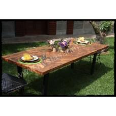 MA0097 Tik Bahçe Masası