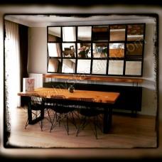 MA0106 Kütük Yemek Masası