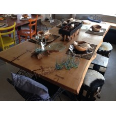 MA0118 Meşe Ağaç Yemek masası
