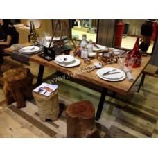 MA0119 Kütük Yemek Masası