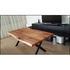 MA0129 Karaağaç kütük masa
