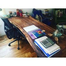 MA0138 Ceviz Ahşap Makam Masası
