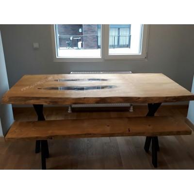 MA0155 Ağaç Yemek Masası