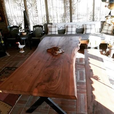 MA0158 Karaağaç Ağaç Masa Uygulaması