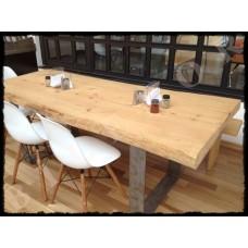 MA0013 Doğal Ahşap Cafe Restaurant Masası