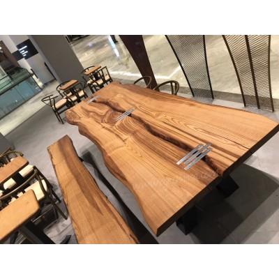 MA0162 Kestane doğal Cafe Masassı