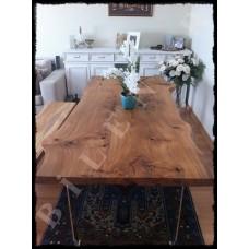 Karaağaç Ağaç Yemek Masası